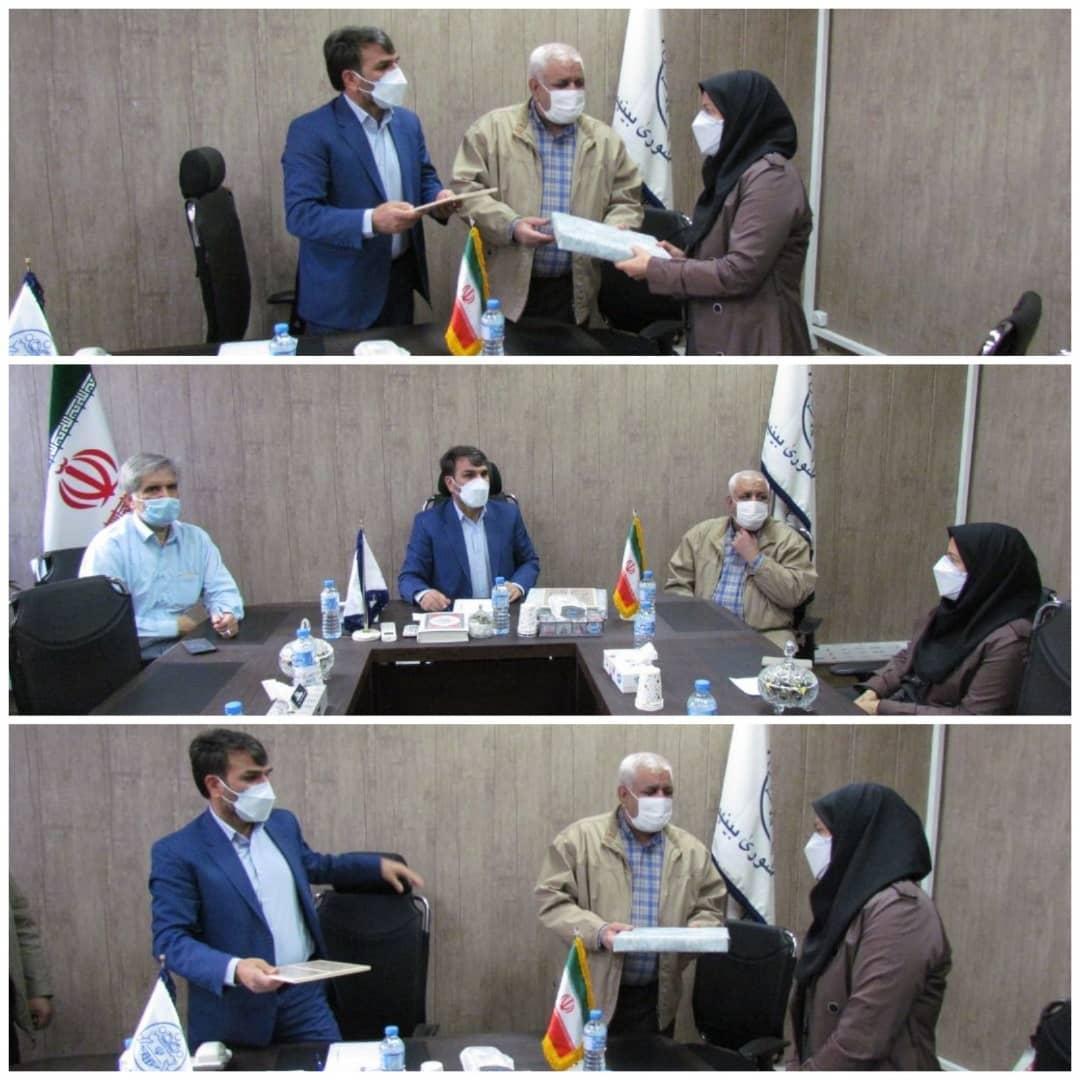 برگزاری جلسه اعضای هیئت رئیسه شورای شهرستان اسلامشهر با حضور خانم تاجیک رئیس شبکه بهداشت ودرمان شهرستان