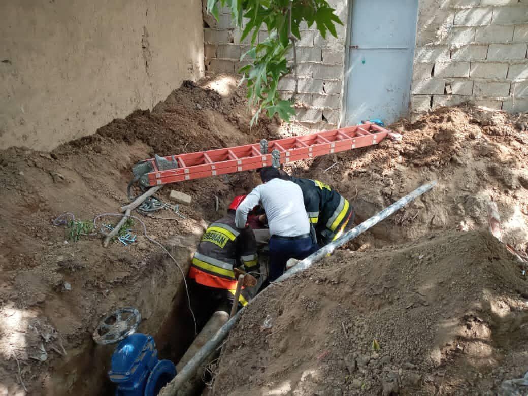 بروز حادثه برق گرفتگی منجر به فوت برای یکی از ساکنین شهر احمدآباد مستوفی
