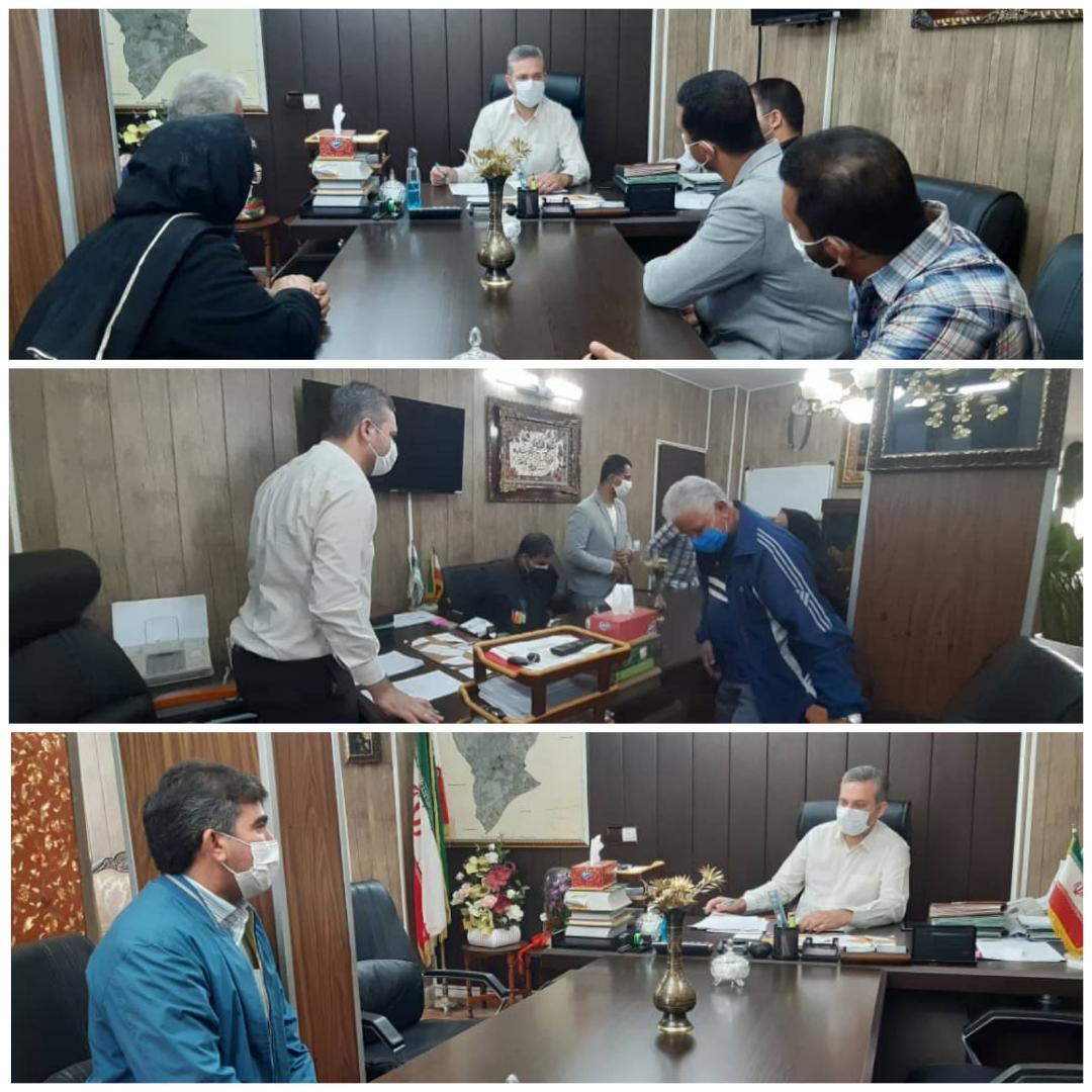 برگزاری نشست ملاقات مردمی شهردار احمدآباد مستوفی در روز سه شنبه 22 مهرماه 99